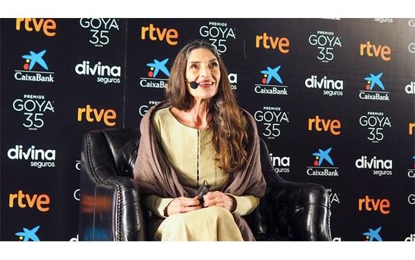 Premios Goya: Ángela Molina recuerda y elogia a Buñuel y Almodóvar