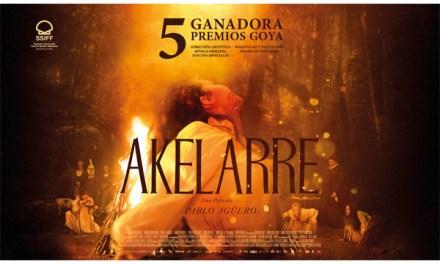 """""""Akelarre"""" es la tercera película en ranking mundial de Netflix"""