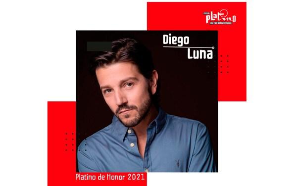 Diego Luna, Premio de Honor de los Premios PLATINO