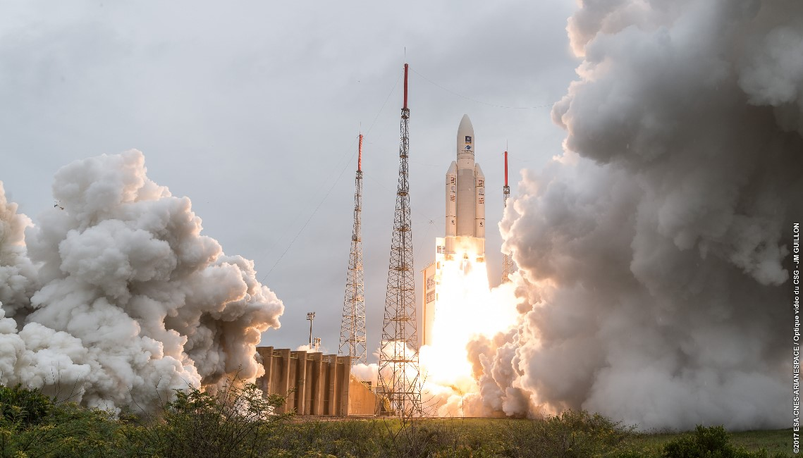 Galileo 19 to 22 launched with IberEspacio Technology on board and Ariane 5
