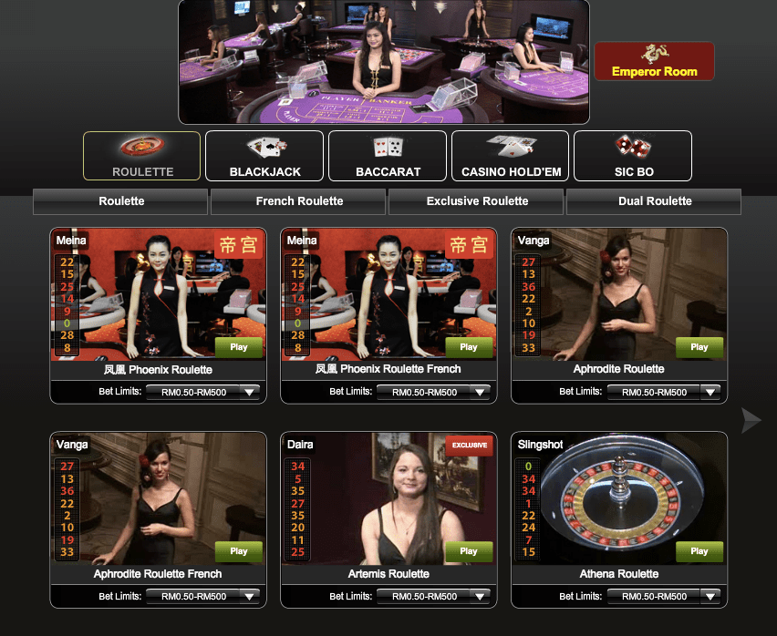 Preview Live Casino & Slots iPT by iBET Malaysia