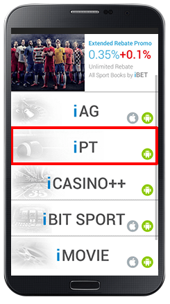 Installing iPT on Android Live Games-step 1