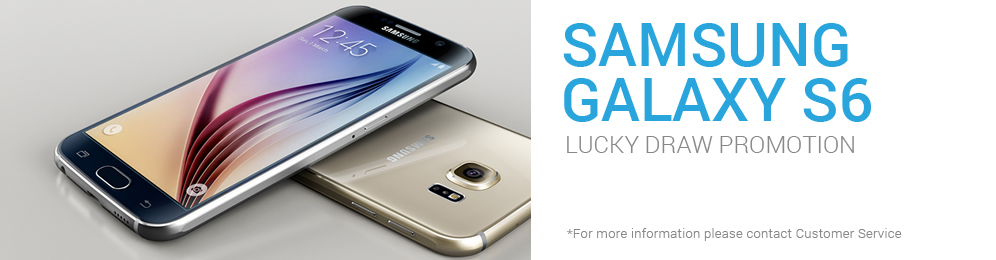 Samsung Galaxy S6 - Lucky Draw Promotion (iBET Malaysia only)