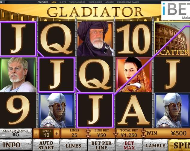 Newtown Casino Gladiator Slot