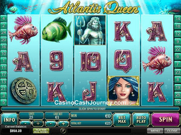 Atlantis Queen Slot Game
