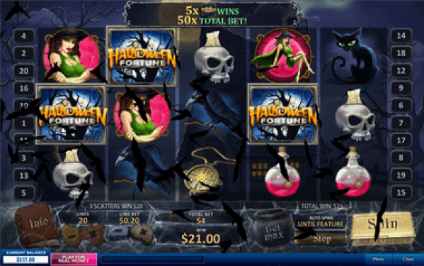 Malaysia Online Casino Halloween Fortune Slot Game