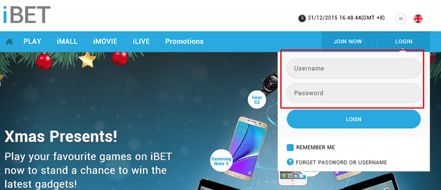 How to use the iBET Onlne Casino Reload Card-1