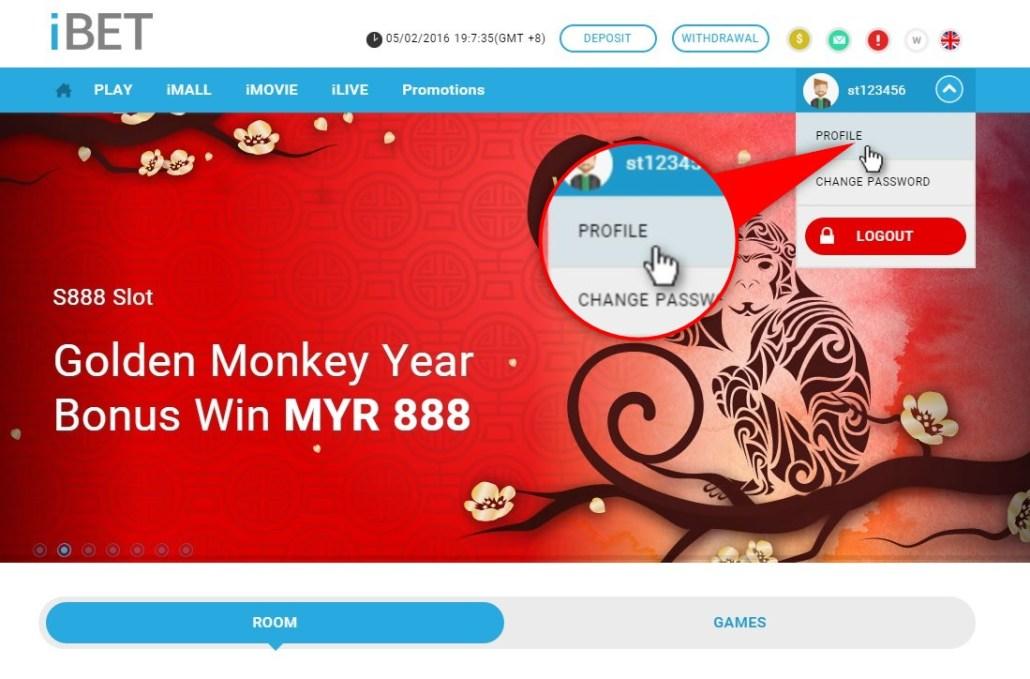 iBET Online Casino teach you verify Wechat get free RM5-2