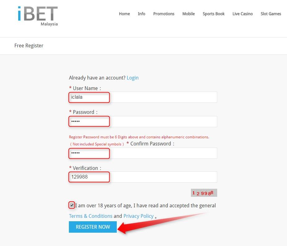 iBET Online Casino New Member Get RM10 Bonus Malaysia
