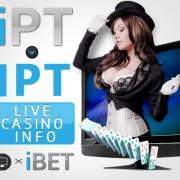 iBET Online Casino iPT Platform Live Casino Info