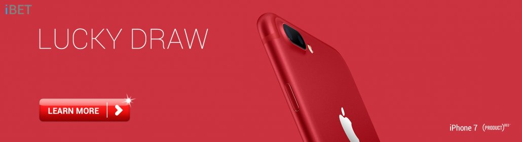 iBET Malaysia iPHONE7 PLUS RED LUCKY DRAW