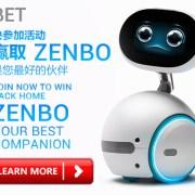 iBET Online Casino Lucky Draw ASUS ZENBO