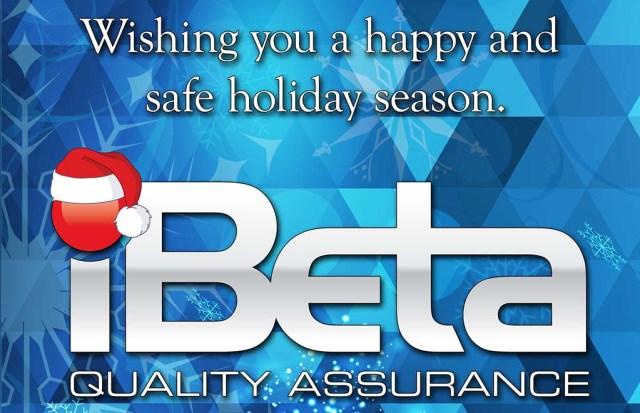 iBeta 2020 happy holiday card