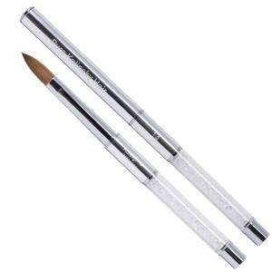 Kolinsky Brush #14 (Silver)