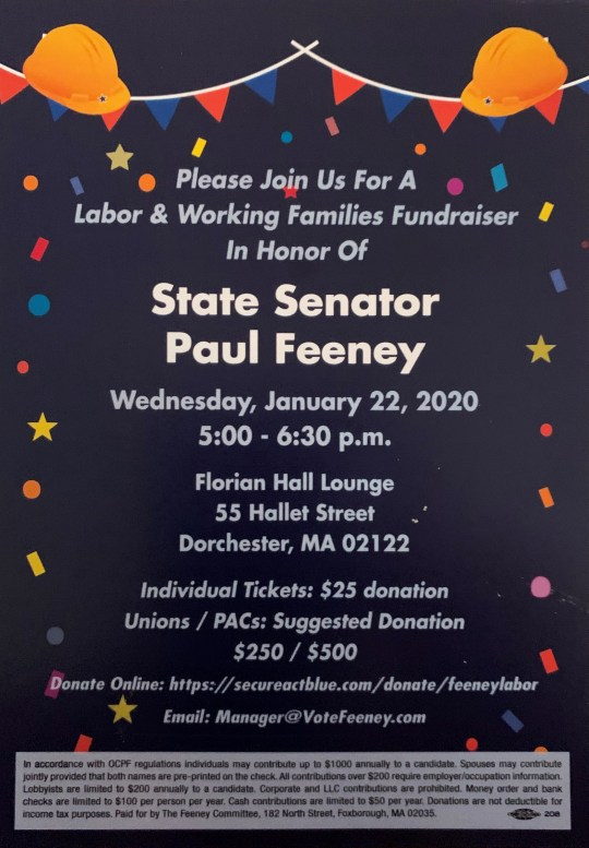 jan 20 feeney fundraiser
