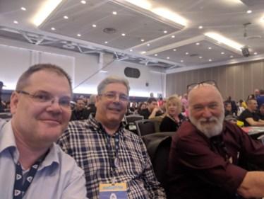 Darryl Schmidt, Doug McDonald, Glen Hilton