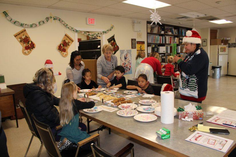 IMG_0526 Kids Decorating Cookies Christmas 2019