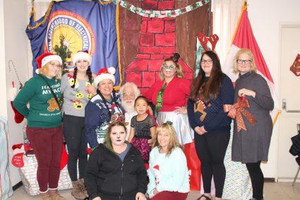 IMG_0636 Women's Committee and Santa