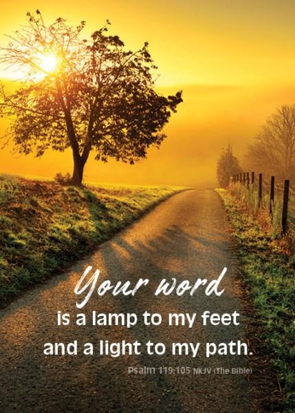 Psalm119105_5x7 Text 2018 PathSunrise