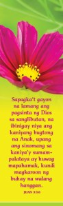 John316_Bookmark 2019 Tagalog Pinkflower