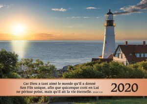 Calendar 2020 French cover