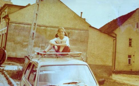Rok 1985. Ul. Szpitalna. Źródło: T. Centkowska