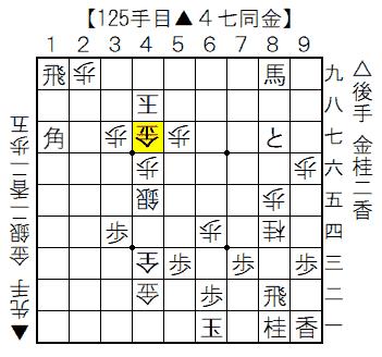実戦詰将棋 9手詰の局面