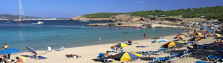 Cala Bassa, Ibiza strand foto