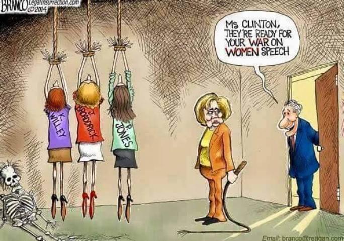 clinton war on women