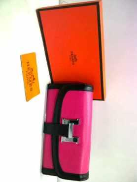 70rb; dompet hermes Pink 11x3x20cm