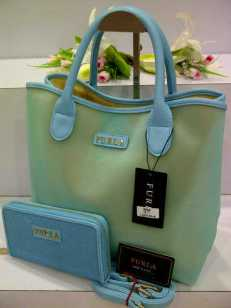 ED0 Furla Maribel Gliter Set 966 Light Blue SemSup 30x15x28
