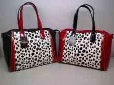 FURLA 6643 BLACK 36x14x29 RED 205rb