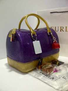 furla glitter 2 tones Gold+purple (i00)
