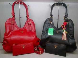 PRADA 5121 RED-BLACK 245rb