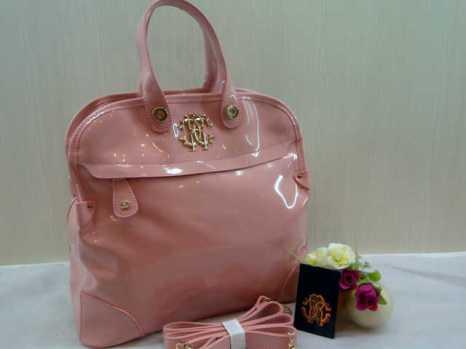 Roberto cavalli super 0016 33x30x13 bahan glosy baby pink 230