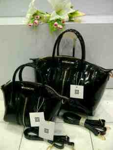 RX0 2Pcs Givency 1206 Set Black Glossy SemSup B=32x18x24 K=22x16x20