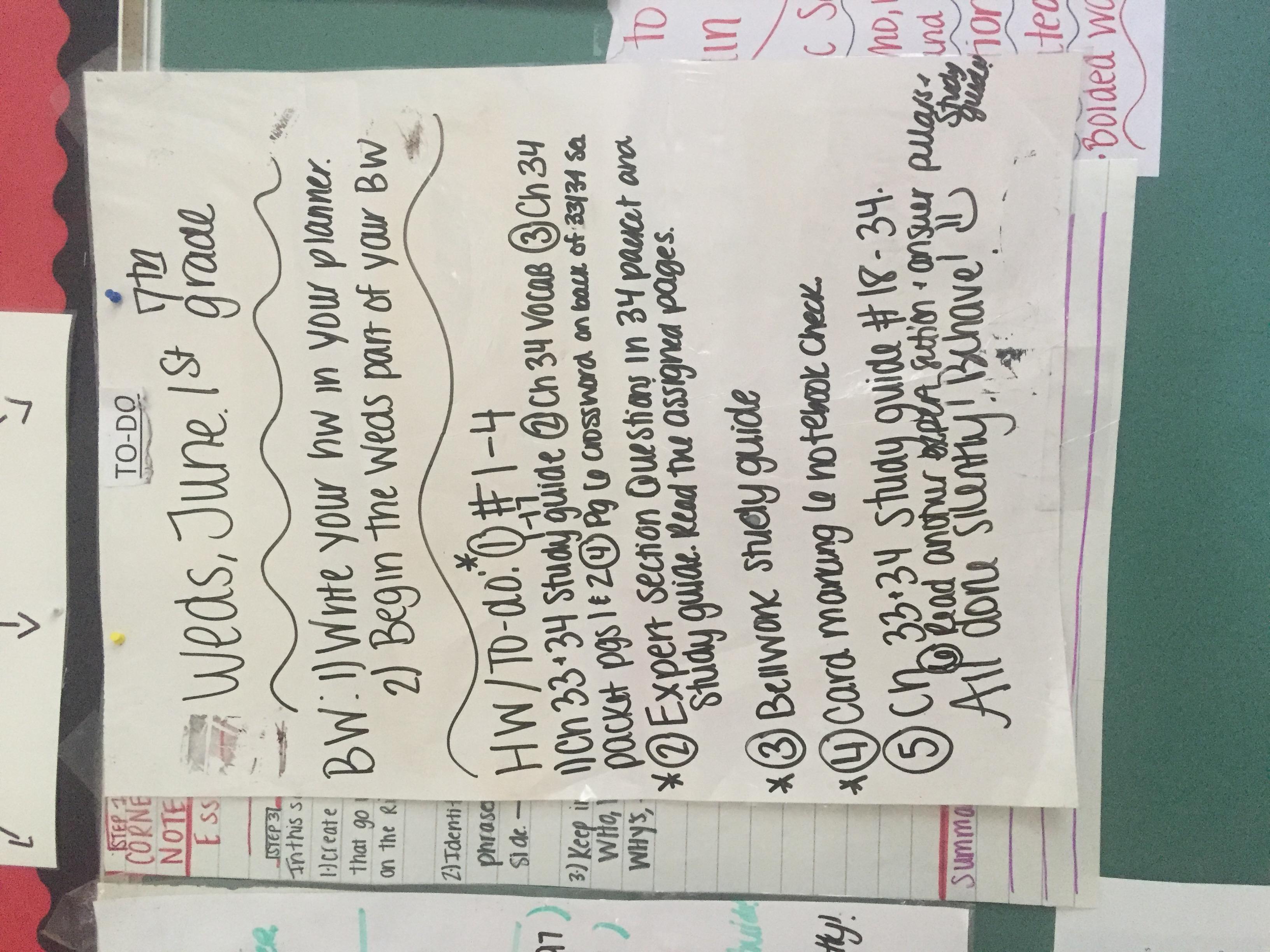 Ms Rancilio S Classroom Blog