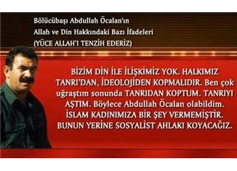 Bölücübaşı Abdullah Öcalan'ın Allah ve din ile ilgili ifadelerine bakın!