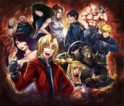 Fullmetal Alchemist cast