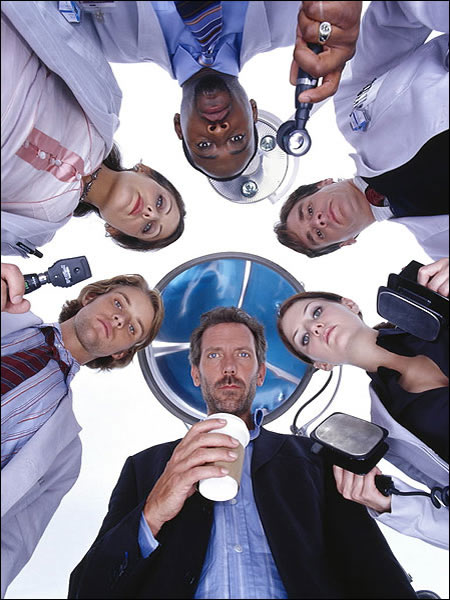 """House with his """"new"""" team of """"old"""" faces"""