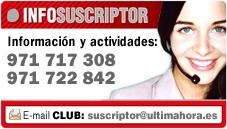 CLUB SUSCRIPTOR INFO