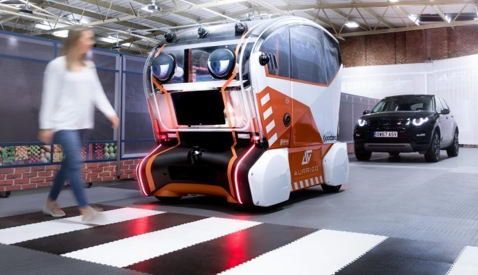 Jaguar UK autodrive