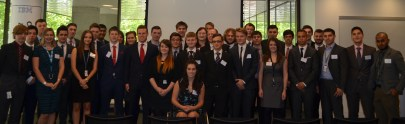 Graduation of the 37 Apprentices who joined IBM in September 2012