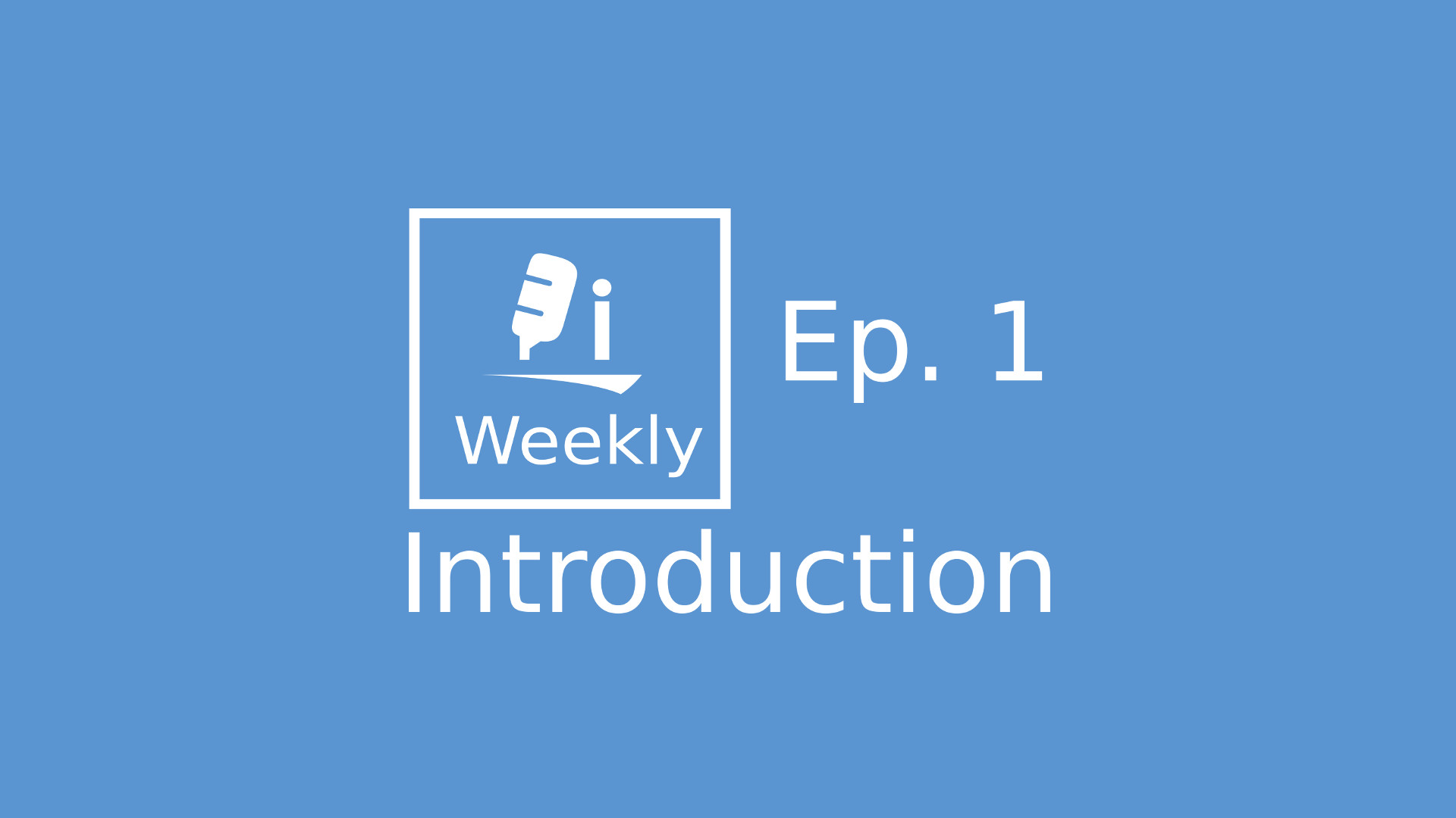 Introduction - Episode 1 Cover