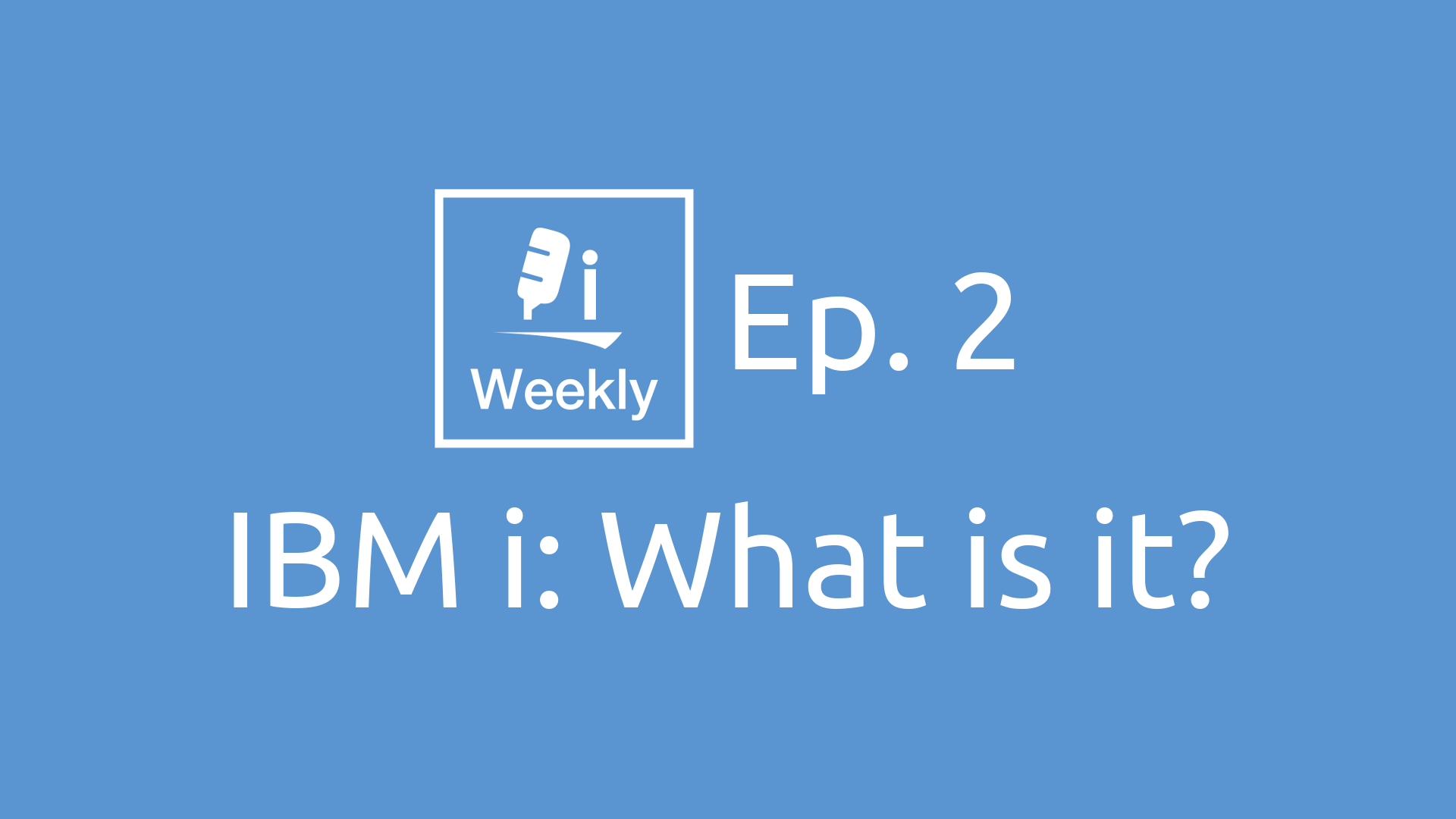 IBM i: What is it?