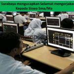 STIE IBMT Surabaya berharap Unas Siswa Sma/Ma bisa berjalan dengan baik dan lancar.