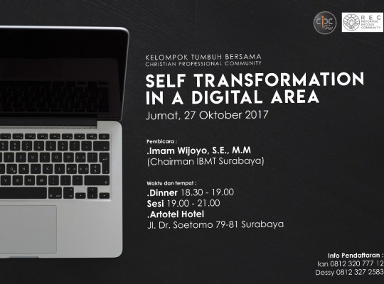 SELF TRANSFORMATION IN DIGITAL ERA