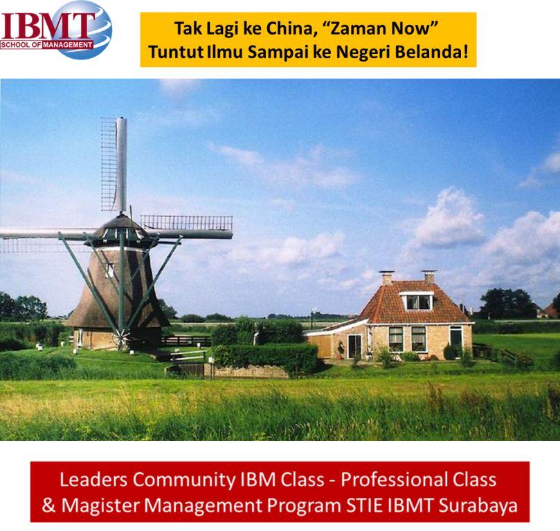 Stie-Ibmt-Tuntutilmu-Belanda