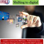 Shifting to digital