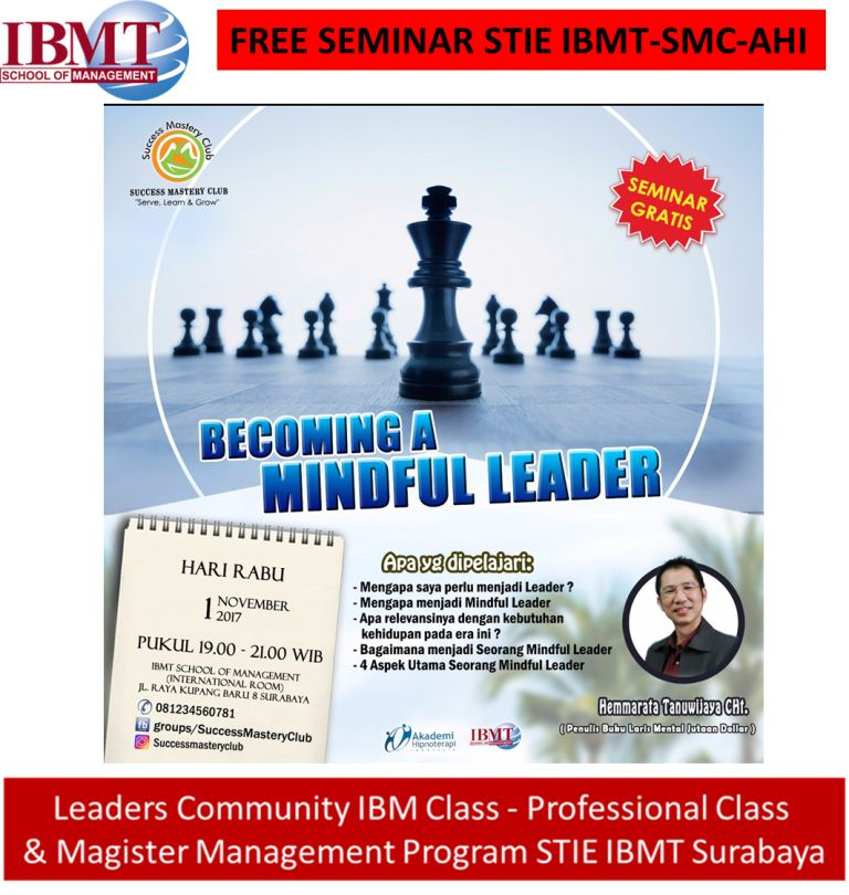 Stie-Ibmt-becoming-Mindful Leader